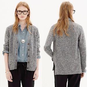 Madewell Texturework Cardigan Sweater Size Large